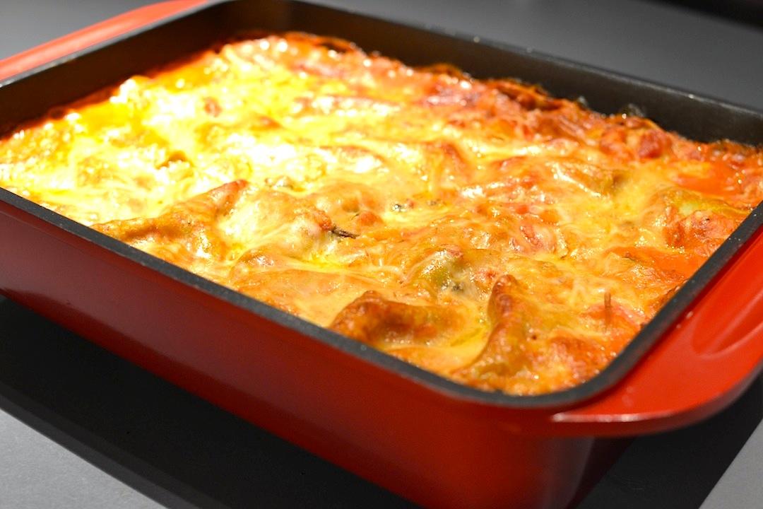 lasagne aux fruits de mer loftkitchen. Black Bedroom Furniture Sets. Home Design Ideas