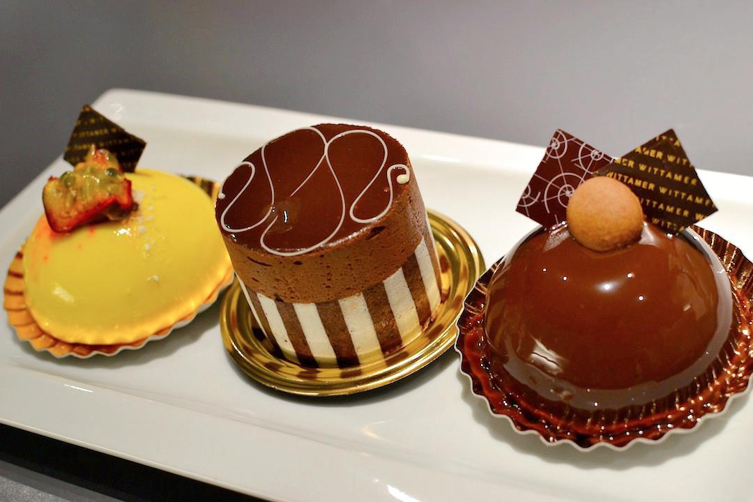 Petits gâteaux de Wittamer