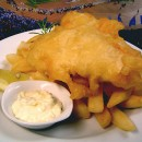 Le Fish and Chips, so british!