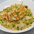 Risotto au poulet et aux champignons, à la casserole pression
