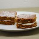 Carrot cake, glaçage au cream cheese