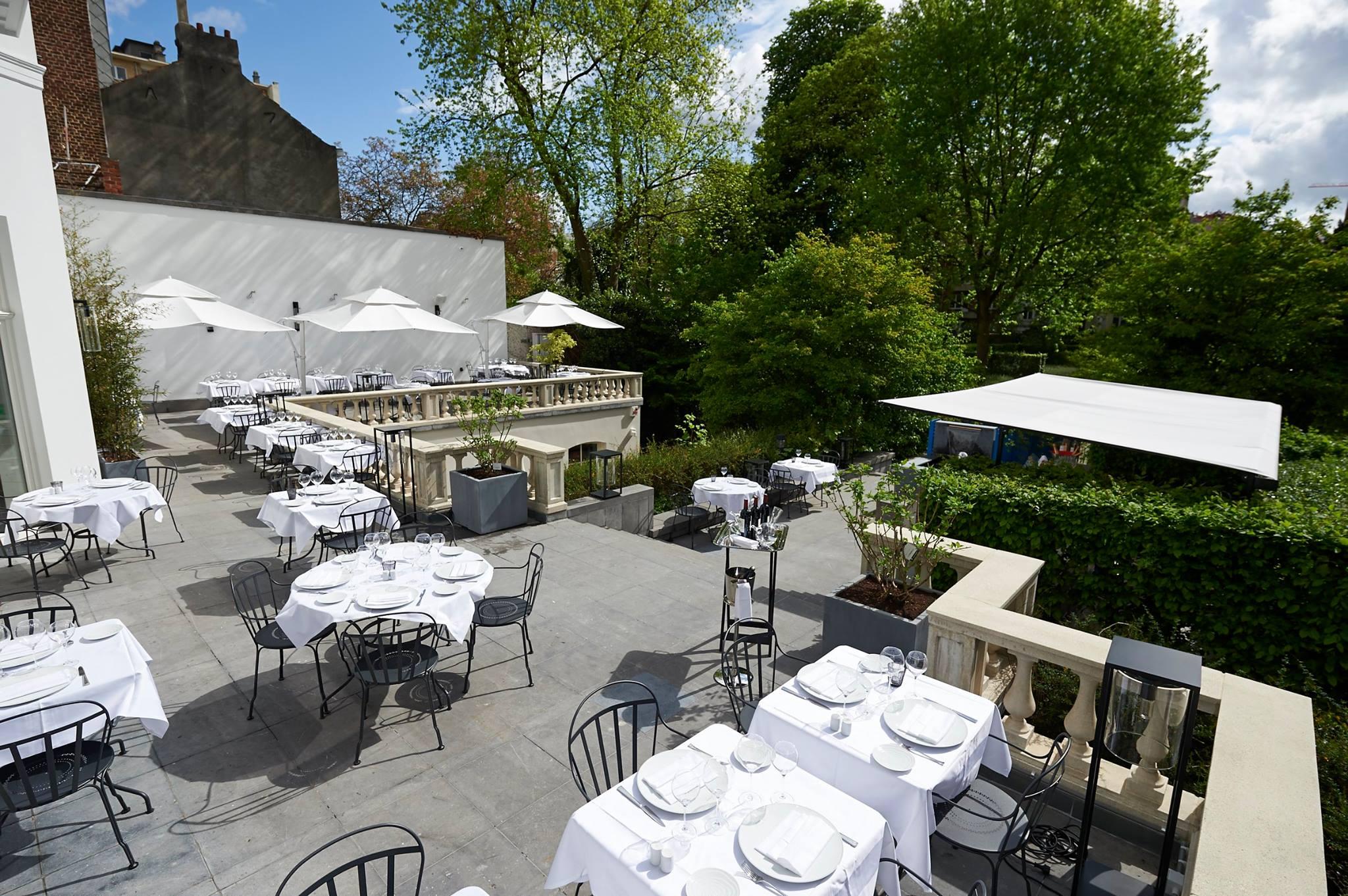 Les 10 terrasses les plus agr ables de bruxelles loftkitchen - Resto terrasse jardin bruxelles nanterre ...