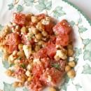 Salade fraicheur à la pastèque, feta et pois chiches